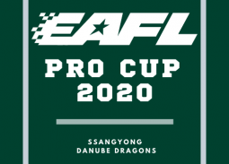 eAFL mit den SsangYong Danube Dragons