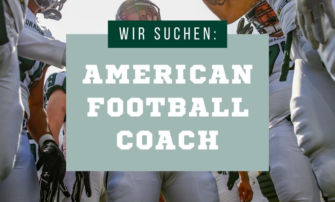 American Football Coaches gesucht