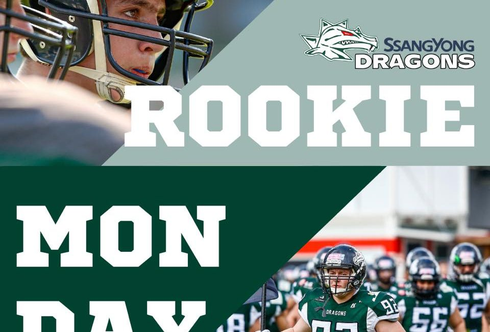 Dragons Rookie Monday