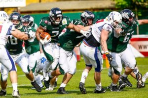 Dragons RB #3 Byron Rhone